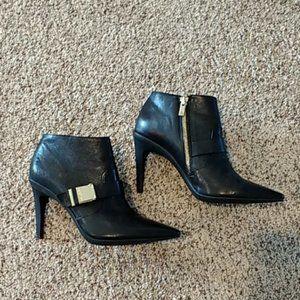 Calvin Klein black booties size 7.5